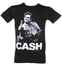 Men's Johnny Cash Cash Finger T-Shirt [View details]