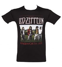 Men's Black Knebworth 1979 Led Zeppelin T-Shirt [View details]