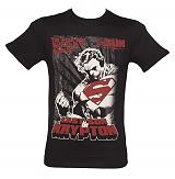 Men's Black Last Son Of Krypton Superman T-Shirt