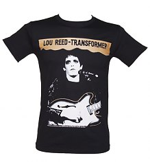 Men's Black Lou Reed Transformer T-Shirt [View details]