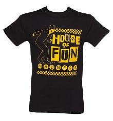 Men's Black Madness House Of Fun T-Shirt [View details]