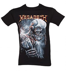 Men's Black Megadeth Dynamite T-Shirt [View details]