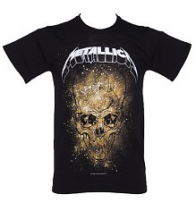 Men's Black Metallica Skull Explosion T-Shirt [View details]