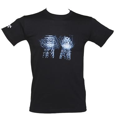 Men's Black Neon Lights Chemical Brothers T-Shirt
