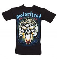 Men's Black Overkill Motorhead T-Shirt [View details]