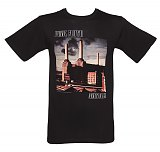 Men's Black Pink Floyd Animals T-Shirt