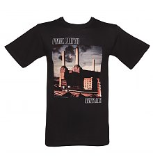 Men's Black Pink Floyd Animals T-Shirt [View details]