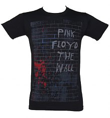 Men's Black Pink Floyd The Wall T-Shirt [View details]
