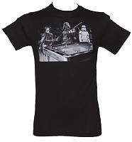 Men's Black Pool Hall Star Wars T-Shirt
