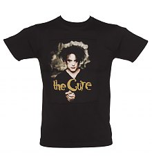 Men's Black Robert Smith Cure T-Shirt [View details]