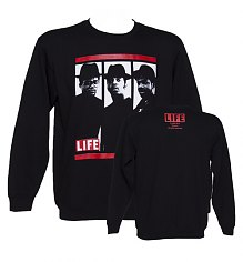 Men's Black Hip Hop Trio Sweater [View details]