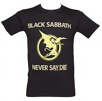 Men's Black Sabbath Never Say Die T-Shirt