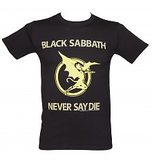 Men's Black Sabbath Never Say Die T-Shirt [View details]