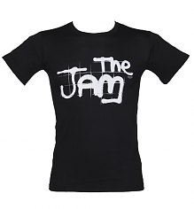 Men's The Jam Spray Logo Black T-Shirt [View details]