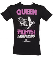 Men's Black Stormtroopers In Stilettos Queen T-Shirt [View details]