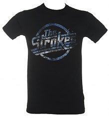 Men's Black Strokes Logo T-Shirt [View details]