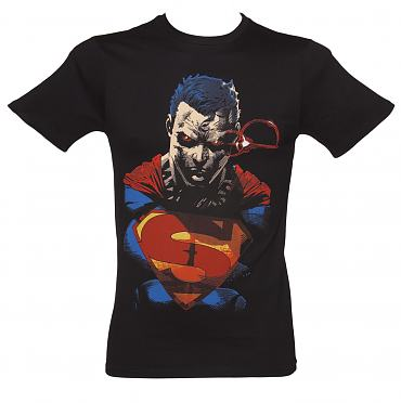 Men's Black Superman Vision T-Shirt