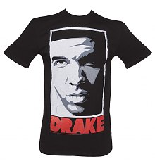 Men's Black Take Care Drake T-Shirt from Amplified [View details]