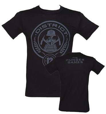 Men's Black The Hunger Games T-Shirt