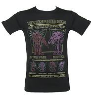 Men's Black Transformers Battle T-Shirt