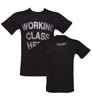 Men's Black Working Class Hero John Lennon T-Shirt