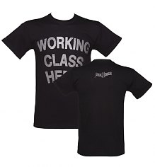 Men's Black Working Class Hero John Lennon T-Shirt [View details]