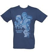 Men's Blue Beastie Boys Sabotage T-Shirt from Chaser LA
