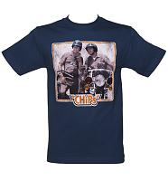 Men's Navy CHiPS T-Shirt