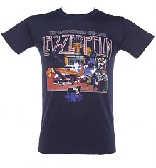 Men's Blue Led Zeppelin Song Remains The Same T-Shirt [View details]
