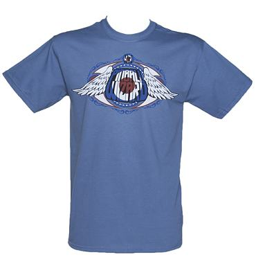 Men's Blue The Who Pinball Wizard T-Shirt