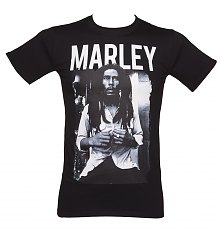 Men's Bob Marley Black & White T-Shirt [View details]