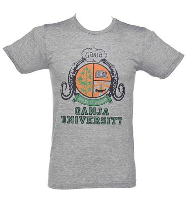 Men's Bob Marley Ganja University T-Shirt from Worn Free