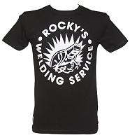 Men's Bon Jovi Rocky's Welding Service T-Shirt from Worn By