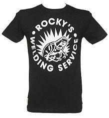 Men's Bon Jovi Rocky's Welding Service T-Shirt from Worn By [View details]