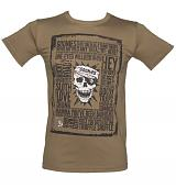 Men's Brown Goonies Quotes T-Shirt