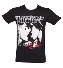 Men's Bullet For My Valentine Temper Temper Kiss T-Shirt [View details]
