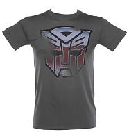 Men's Charcoal Autobot Transformers T-Shirt