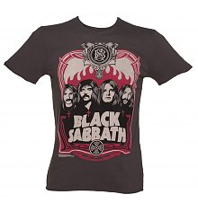 Men's Charcoal Black Sabbath T-Shirt from Amplified Vintage [View details]