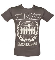 Men's Charcoal Crowdsurf Enter Shikari T-Shirt [View details]