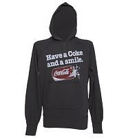 Men's Charcoal Have A Coke and A Smile Lightweight Hoodie