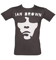 Men's Charcoal Ian Brown Face T-Shirt