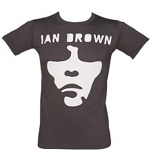 Men's Charcoal Ian Brown Face T-Shirt [View details]