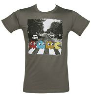 Men's Charcoal Pac-Man Abbey Road T-Shirt
