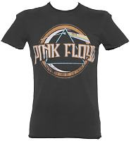 Men's Charcoal Pink Floyd On The Run T-Shirt from Amplified Vintage