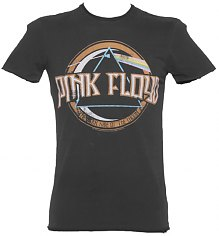 Men's Charcoal Pink Floyd On The Run T-Shirt from Amplified Vintage [View details]