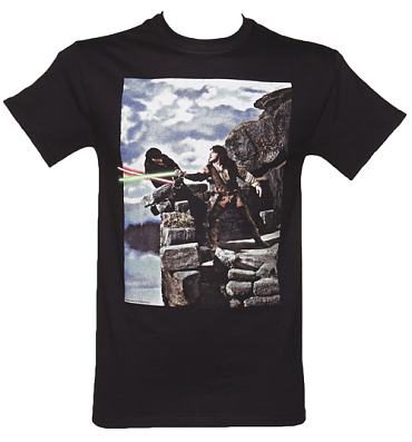 Men's Charcoal Princess Bride Lightsabers T-Shirt
