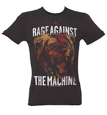 Men's Charcoal Rage Against The Machine T-Shirt from Amplified Vintage [View details]