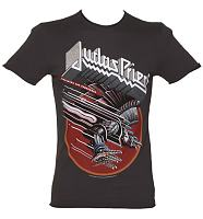 Men's Charcoal Screaming For Vengeance Judas Priest T-Shirt from Amplified Vintage