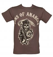 Men's Charcoal Sons Of Anarchy T-Shirt