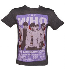 Men's Charcoal The Who Goldhawk Road T-Shirt from Amplified Vintage [View details]